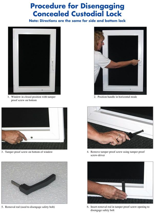 Child-Guard Window Safety Lock