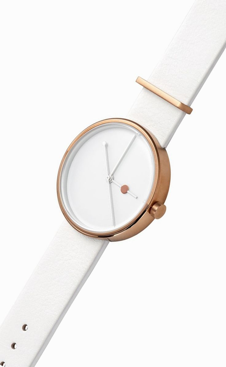 Eclipse Rose Gold Watch by Aark Collective   From Clockwize.uk