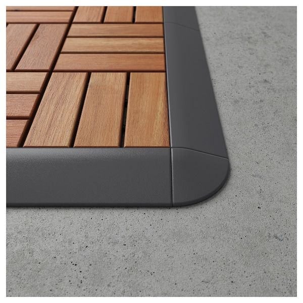 IKEA RUNNEN Corner edge, outdoor decking | Exterior ideas in