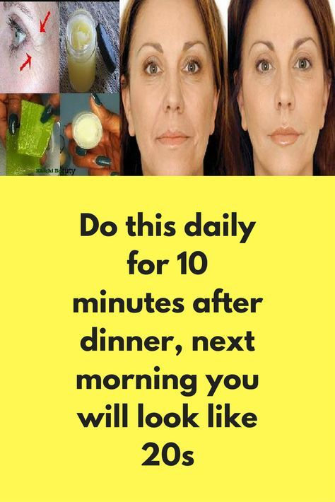Do this daily for 10 minutes after dinner, next morning you will look like 20s Sometimes signs of aging appears on our body much before expectation and you start to look older, if you are also suffering from this issue, this post is for you. There are many home remedies that can hide all signs of aging like magic, some of them are given below: Olive Oil Olive oil is one …