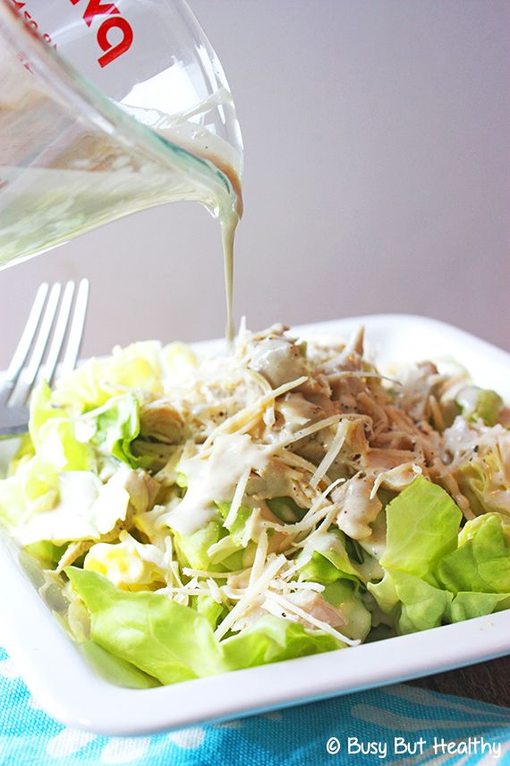 Best Ever Light Caesar Dressing - Busy But Healthy