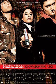 Hazaaron Khwaishein Aisi | [15-Apr-2005] | Language: Hindi | Genres: #Drama #Romance | Lead Actors: Kay Kay Menon, Chitrangada Singh, Shiney Ahuja | Director(s): Sudhir Mishra | Producer(s): Rangita Pritish Nandy | Music: Shantanu Moitra | Cinematography: Ravi K. Chandran | #cinerelease #cineresearch #cineoceans #offbeatmovie #2005cinema #HazaaronKhwaisheinAisi