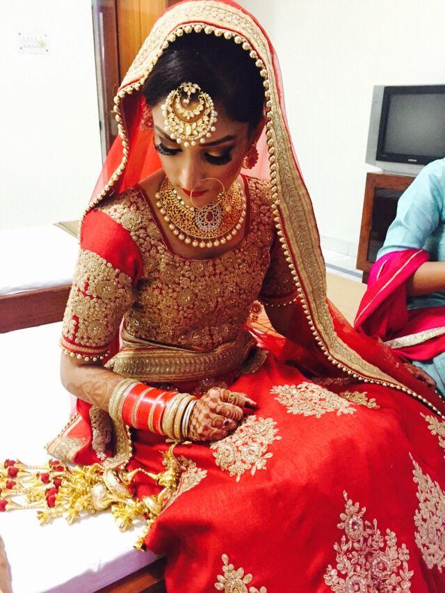Beautiful punjabi bride