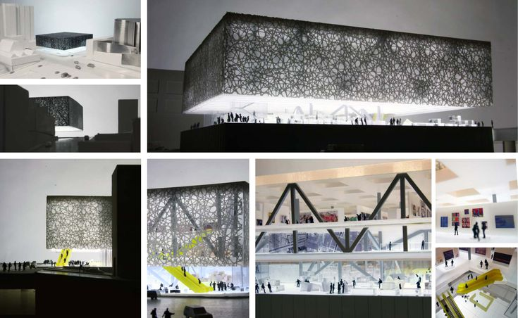 "A/N Blog . Here's Rem Koolhaas' ""Floating"" Runner-Up Proposal for Los Angeles' Broad Museum"