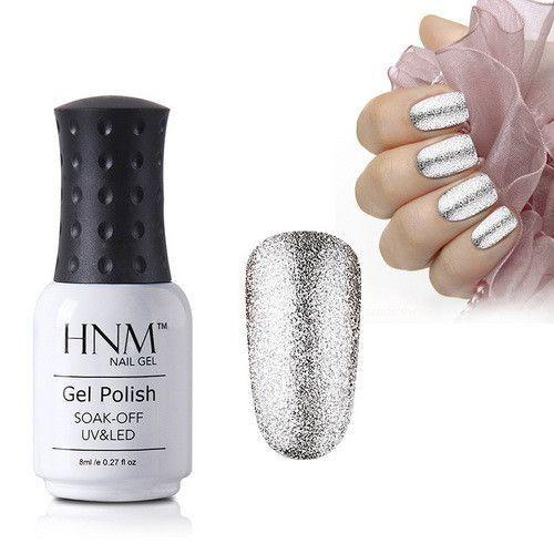 HNM Super Bling 8ML UV Gel Nail Polish Long Last Nail Gel Polish Platinum Gel Varnish Gel Lacquer Lak Vernis Semi Permanent