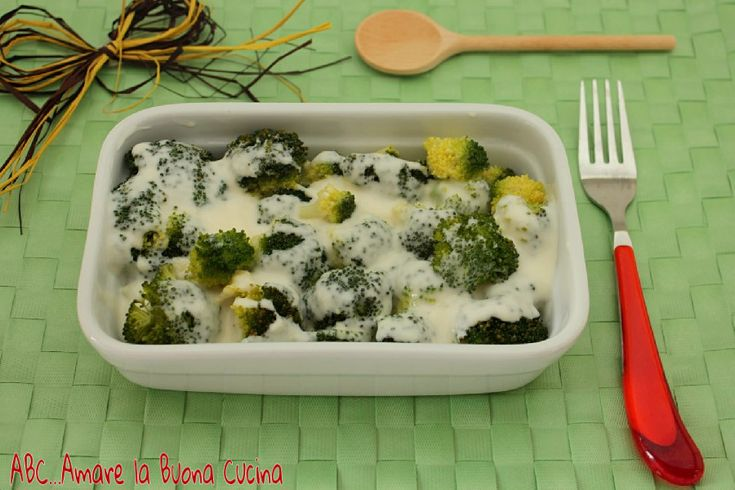 broccoli al vapore con besciamella (1)