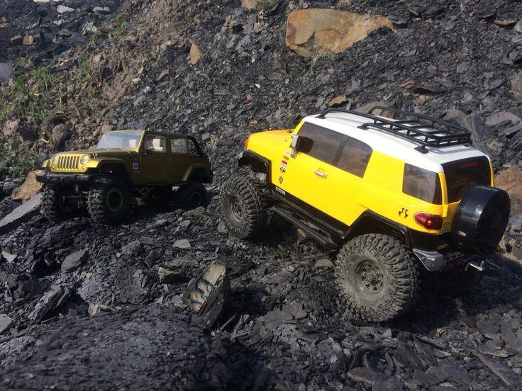 FJ and Rubicon by drekas RC crawlers - www.drcmotion.com