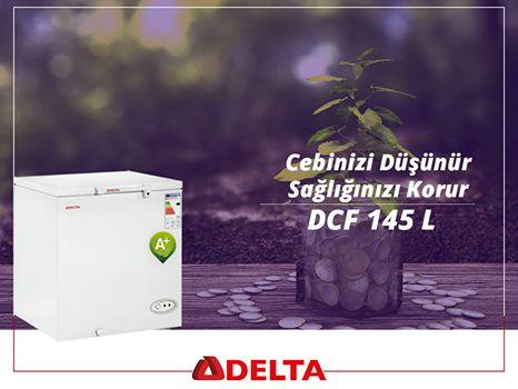 Delta DCF 145 L derin dondurucular, cebinizi düşündüğü gibi sağlığınızı da korur. http://www.deltasogutma.com.tr/