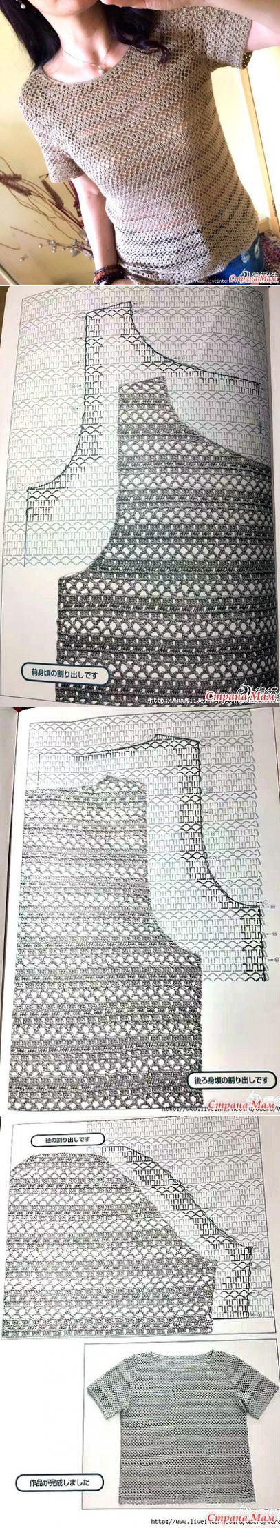 98 best chalecos crochet verano images on Pinterest | Ropas de ...