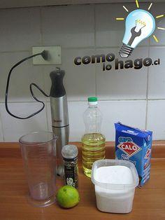 Mayonesa sin huevo
