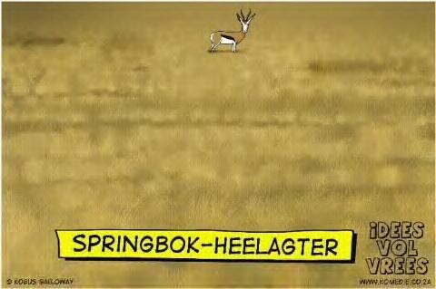 Springbok Heel-agter