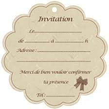 43 best Cartes d'invitations et de remerciements images on ...