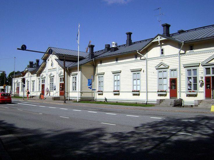 Railroad station, Vaasa, Finland