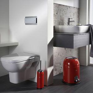 Brosse WC ronde en acier (3 couleurs) Toilet Brush Wesco
