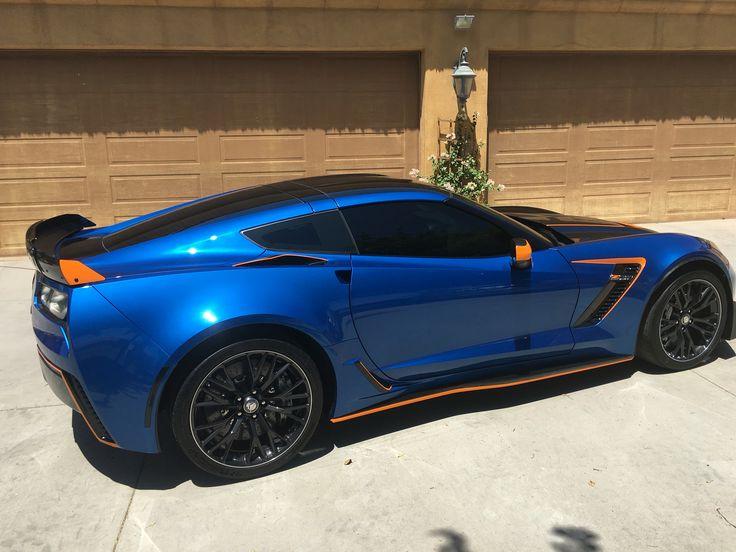 35 best Laguna Blue 2016 corvette c7 z06 8 speed automatic Z07