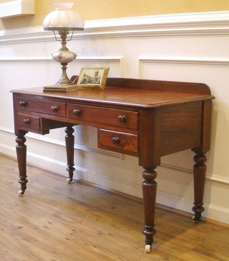 47 1 2 depth 19 1 2 desk top height 27 1 4 total. Black Bedroom Furniture Sets. Home Design Ideas
