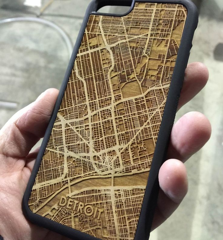 Beautifully engraved onto a piece of Cherry, this cell phone case of the #Boston #streetmap is one of a kind! #iphonecase