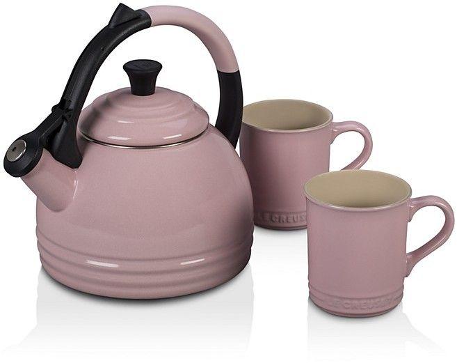 Le Creuset Perth 3-Piece Kettle & Mug Set