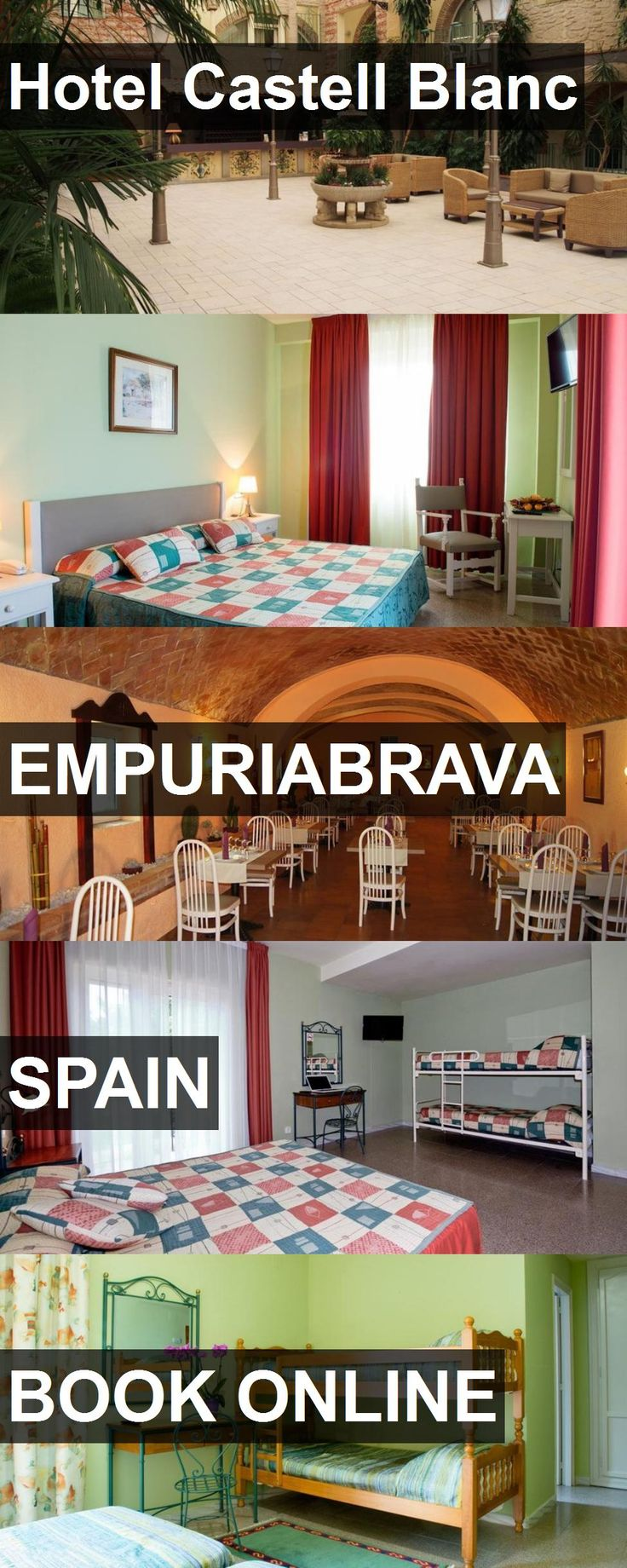 Hotel Castell Blanc in Empuriabrava, Spain. For more information, photos, reviews and best prices please follow the link. #Spain #Empuriabrava #travel #vacation #hotel