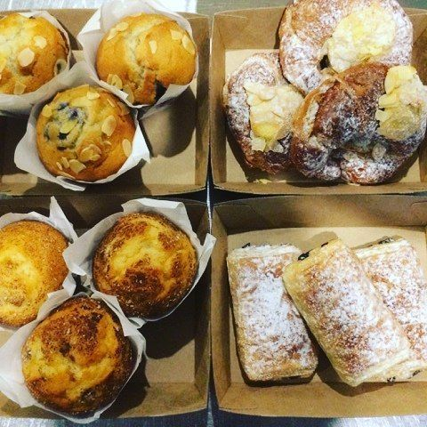 Keep us in mind Lismore for your next workplace morning tea!  With a couple of days notice we can make sure we have delicious and fresh pastries muffins coffee hot chocs specialty lattes and much more ready to go!