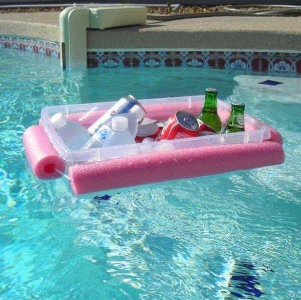 13 Creative Uses For Pool Noodles Pool Bar Pool Noodles Mini Pool