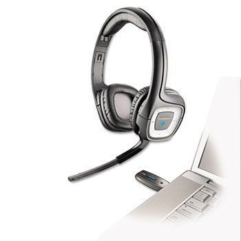 Plantronics - .Audio 995 Usb Wireless Stereo Headset W/Noise Canceling Mic Product Category: Audio Visual Equipment/Telephone & Cellular Accessories