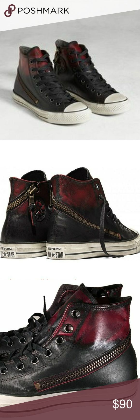 $100 off! Converse x John Varvatos Chuck Zip Hi Special Collab w/ John Varvatos New w/tags 100% Authentic  **please inquire for size first! Converse Shoes Sneakers