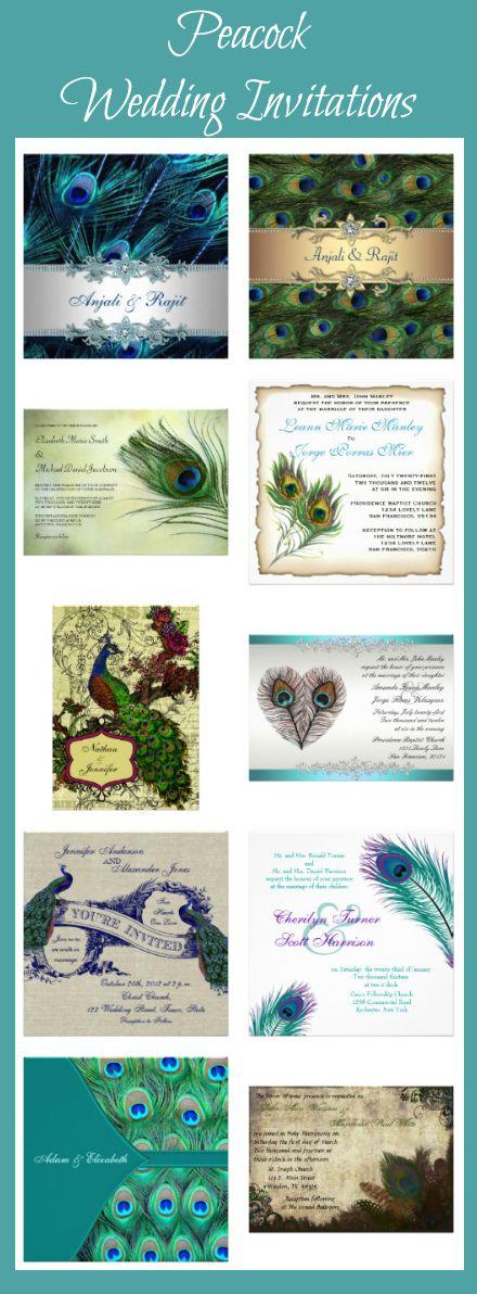 Elegant Peacock Wedding Invitations at http://custom-personalized-wedding-invitations.com/elegant-peacock-wedding-invitations/