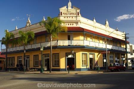 Historic Post Office Hotel (1889), Maryborough, Queensland, Australia