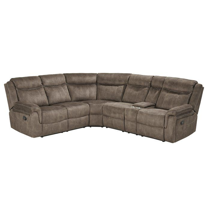 Hadenson 61 5 Right Hand Facing Reclining Sectional Reclining