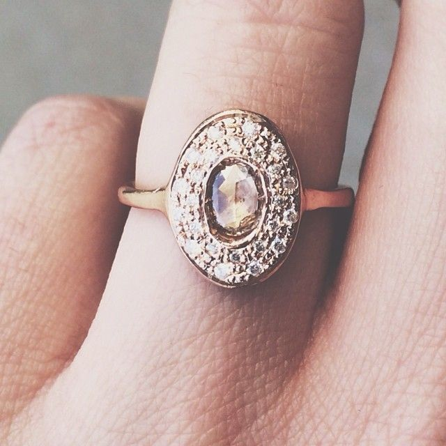 love the vintage style rings.
