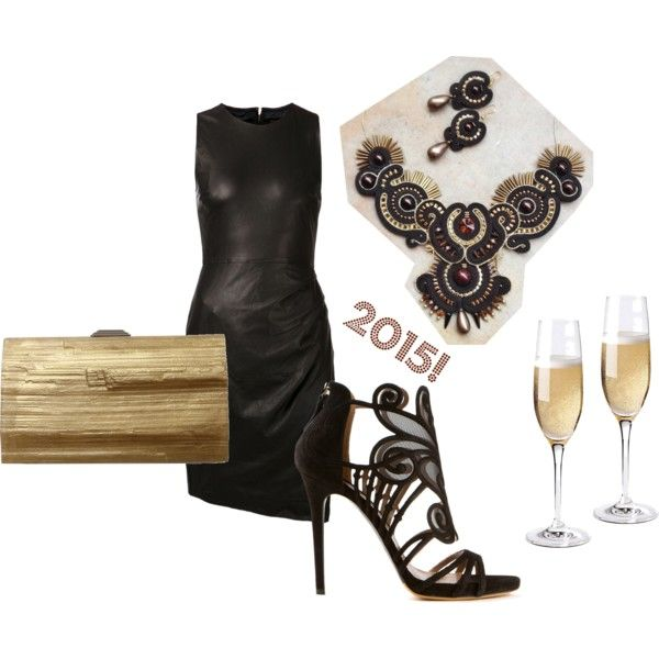 new year's eve by galeriamagia on Polyvore featuring moda, Skingraft, Tabitha Simmons and Kara Ross