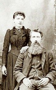 Pa and Laura Ingalls Wilder