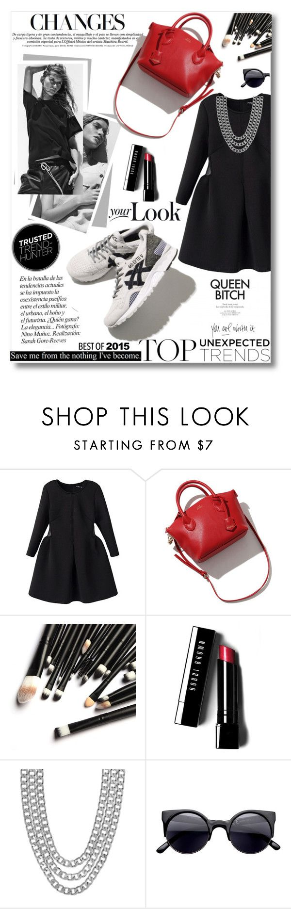 """""""Sporty Chic trend"""" by tsungie ❤ liked on Polyvore featuring Asics, Bobbi Brown Cosmetics and Henri Bendel"""