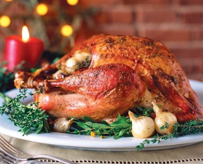 Рождественская индейка по-американски - рецепт с фото / Простые рецепты