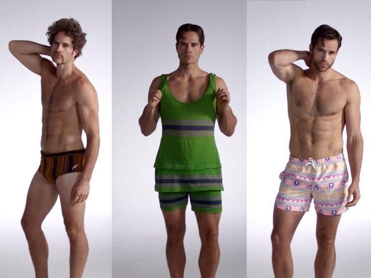 Как менялись мужские плавки за последние 100 лет