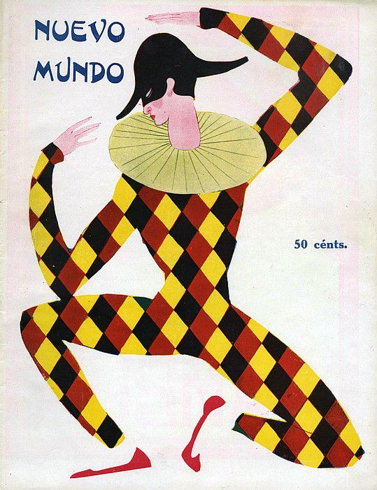 Nuevo Mundo 1920s Spain Cc Magazines Drawing The Advertising Archives.