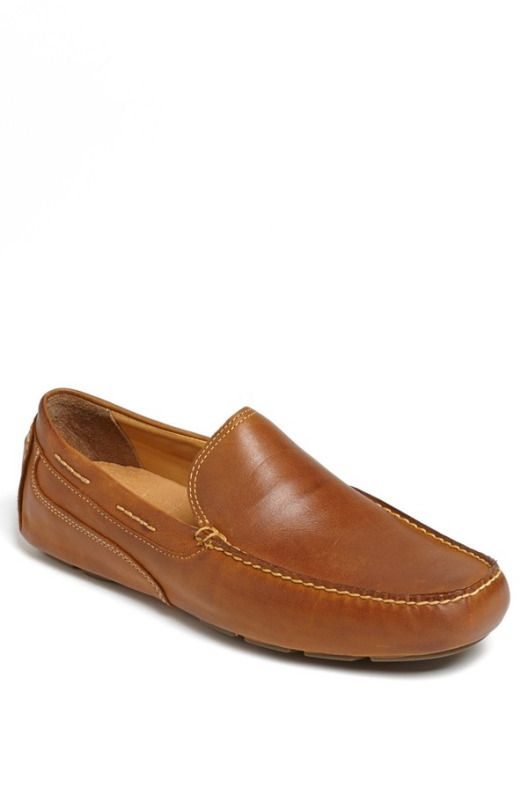 """Sperry - 'Gold Cup - Kennebunk' Driving Moccasin """"Tan"""""""
