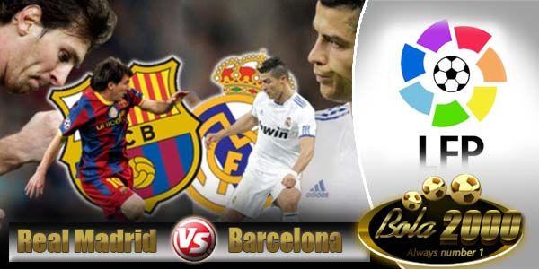 Prediksi Bola Real Madrid vs Barcelona 25 Oktober 2014