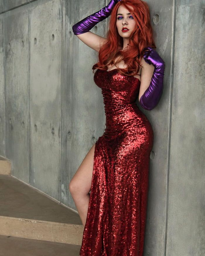 jessica rabbitomgcosplay  cosplay outfits diy