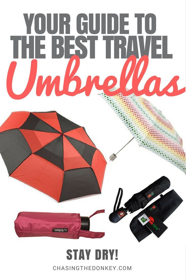 Croatia Travel Blog: Weather is an important factor whenever you travel. Don't let rain put a damper on any of your sightseeing plans with this guide to the best travel umbrellas on the market. Stay dry and stay happy on your next adventure. Click to learn more! #TravelAdventure #TravelGear #Umbrellas