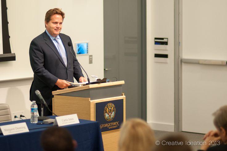 Rob Mathias, Regional CEO, North America, for Ogilvy PR providing the keynote speech.