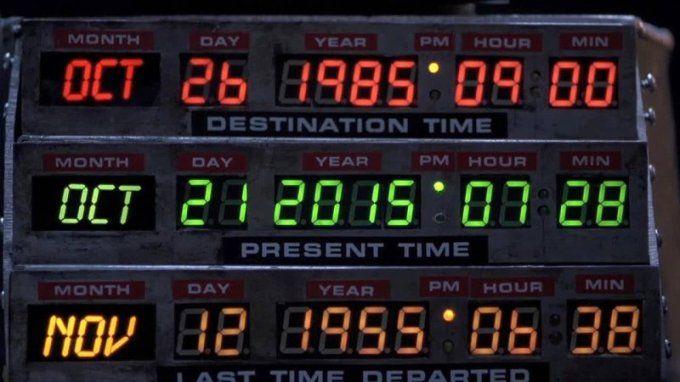 Сегодня главный герой фильма «Назад в будущее» Марти Макфлай «прилетел» в Первоуральск