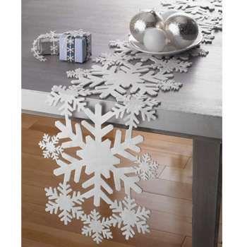 Snowflake table runners