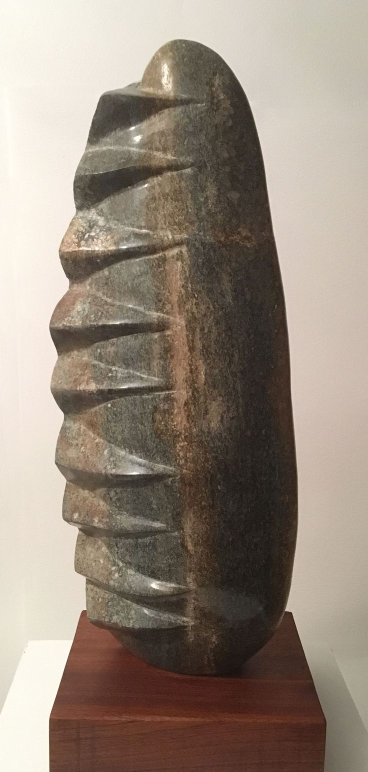 Bivalve Form II Purbeck Marble (Private Collection)