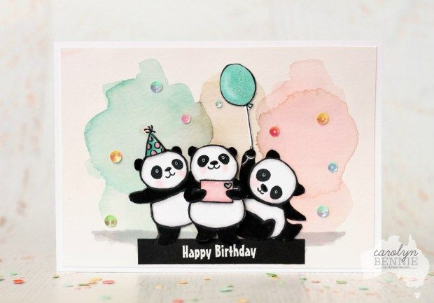 Stampin' Up! Party Pandas - Sale-A-Bration 2018- Carolyn Bennie, Australian Stampin' Up! Demonstrator carolynbennie.com