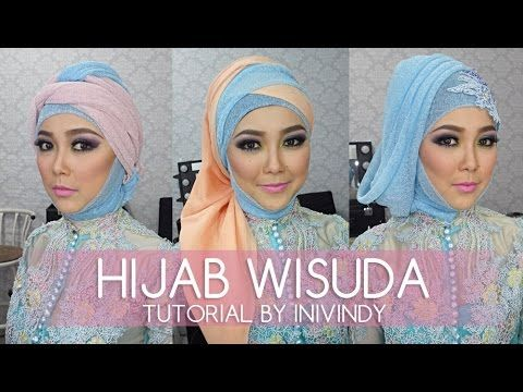 Tutorial Hijab Wisuda 2015 | Hijab Tutorial For Graduation | Do It Yourself