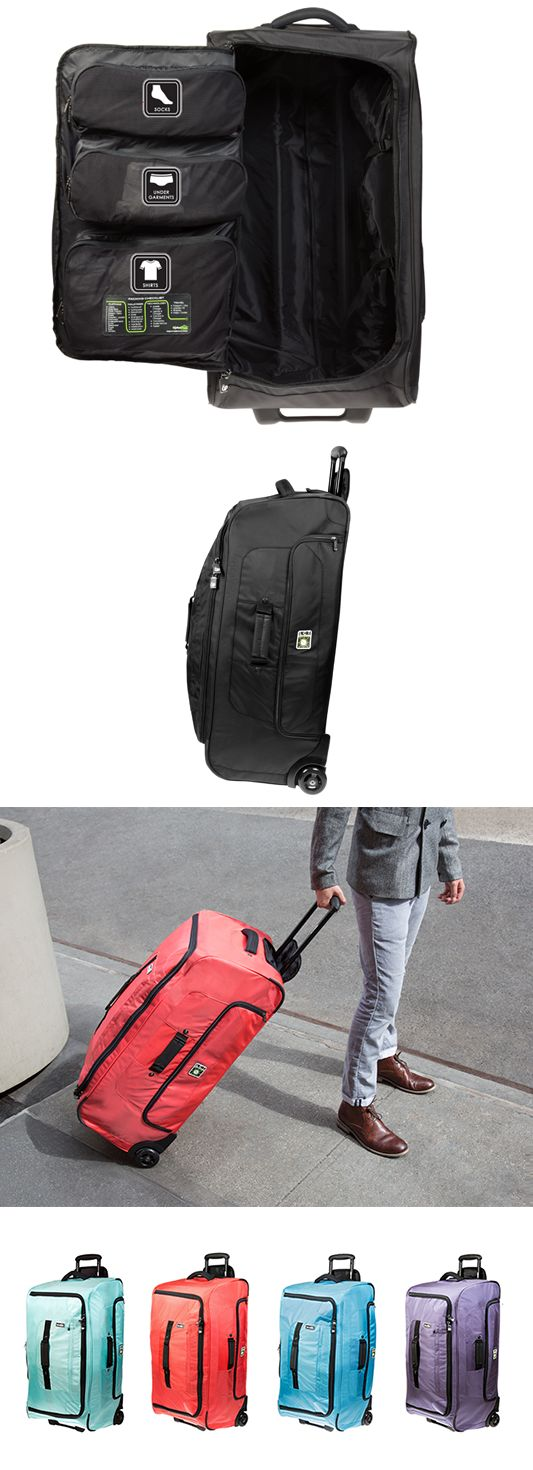 Super smart, super roomy & compartmentalized suit case from Genius Pack.