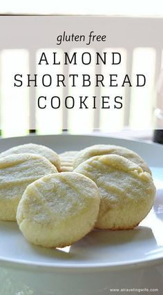 Gluten Free Almond Shortbread Cookies - a sweet treat for any day. #ad #trueteataste