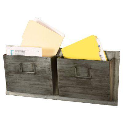 Metal 2 Slot Industrial Mailbox - AHW-M2SLOTH-1, Durable